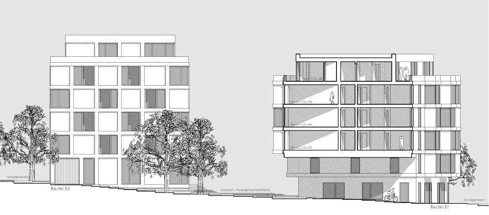 studinest 3000 studentenwohnheim am v genteich in. Black Bedroom Furniture Sets. Home Design Ideas